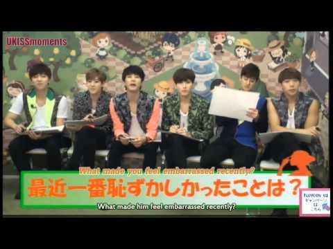 [ENG SUB] 140724 U-KISS Jun Quiz - Q2 & 3 [2/3] (видео)
