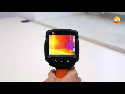 testo 870 - Step 02 - How to Start up the camera