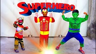 Video Superhero Beraksi & Unboxing Baju Kostum Superhero + Topeng, Ada Hulk, Iron Man & Bima X MP3, 3GP, MP4, WEBM, AVI, FLV November 2018