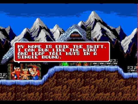 Mega Drive Longplay [478] The Lost Vikings