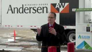 Menomonie (WI) United States  City pictures : CNG Fueling Station Grand Opening (Menomonie, WI)