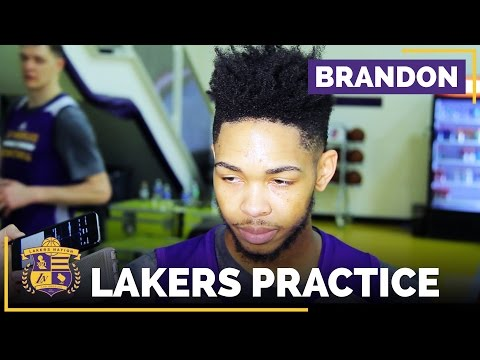 Video: Brandon Ingram On Advice From Luke Walton, Rising Stars Challenge