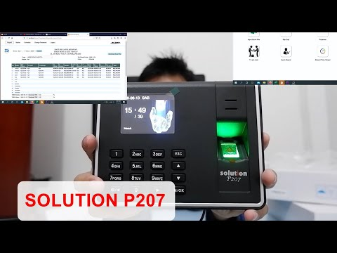 SOLUTION P207 REVIEW | UNBOXING SOLUTION P207 | PAYROLL APLICATION