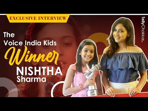 Meet The Voice India Kids WINNER Nishtha Sharma |