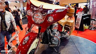 4. (HD)Indian Roadmaster Classic 2018 インディアン ロードマスタークラシック - ��屋モーターショー2017