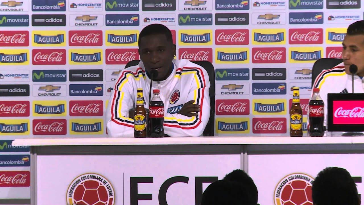 Copa América 2015: Zapata: «Quando atacamos, podemos causar danos em qualquer um» #CopaAmericaChile2015
