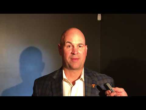 Mike Griffith/SEC Country Jeremy Pruitt Chattanooga 5-10-18