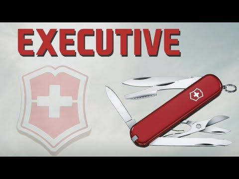 VICTORINOX EXECUTIVE - SWISS ARMY KNIFE REVIEW