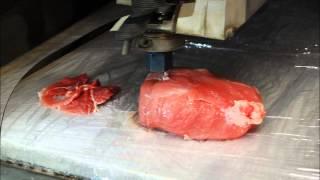 Test porcování masa