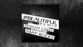 Thumbnail for Mariah Carey ft. Miguel & A$AP Rocky — #Beautiful Remix