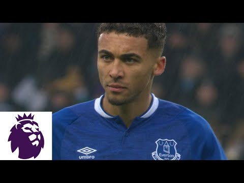 Video: Calvert-Lewin's header cuts into Everton's deficit against Man City | Premier League | NBC Sports