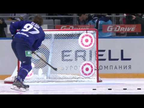 Матч Звезд 2015: Броски на точность /KHL All Star Game 2015: Shooting Accuracy (видео)