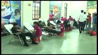 Ngày hội hiến máu tình nguyện Trung đoàn CSCĐ Đông Bắc