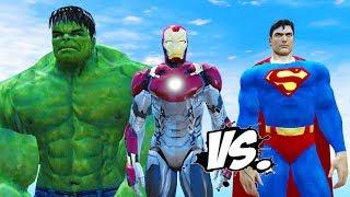Video HULK & IRON MAN VS SUPERMAN - EPIC SUPERHEROES BATTLE MP3, 3GP, MP4, WEBM, AVI, FLV Agustus 2018