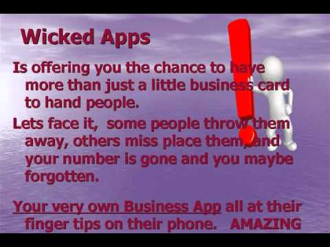 Video of Wicked Apps