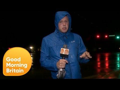 Hurricane Florence Hits North Carolina   Good Morning Britain