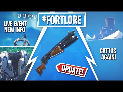 Fortnite Update! 9.40 Release, Live Event News, Cattus In-game AGAIN!