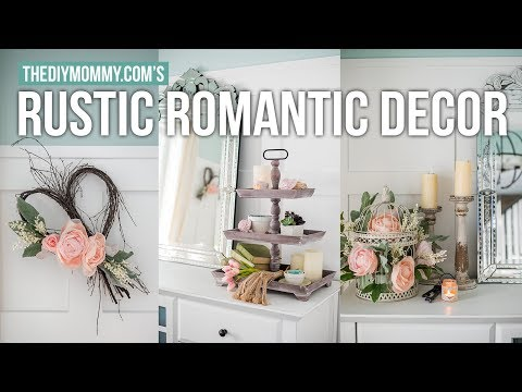 Rustic Romantic Diy Decorating Ideas | The Diy Mommy