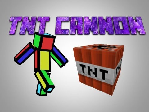 how to make a tnt launcher in minecraft