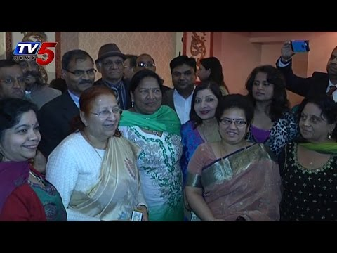 Sumitra Mahajan Evocates NRIs To Become partners in Making India | USA : TV5 News