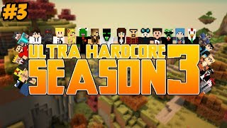 Minecraft: Ultra Hardcore (UHC) - Season 3 - Episode 3 - GOLD MINE!