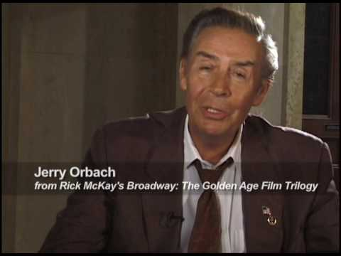 Happy Birthday JERRY ORBACH from RICK McKAY's GOLDEN AGE TRILOGY!