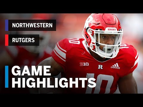 Highlights: Northwestern At Rutgers | Big Ten Football