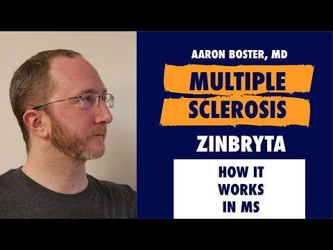 Dr. B explains how Zinbryta works in MS