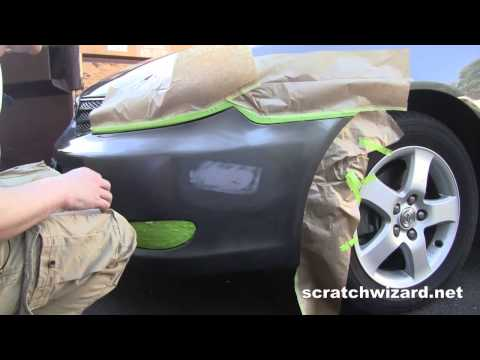 Repair Automotive Paint Scratches With Spray Paint