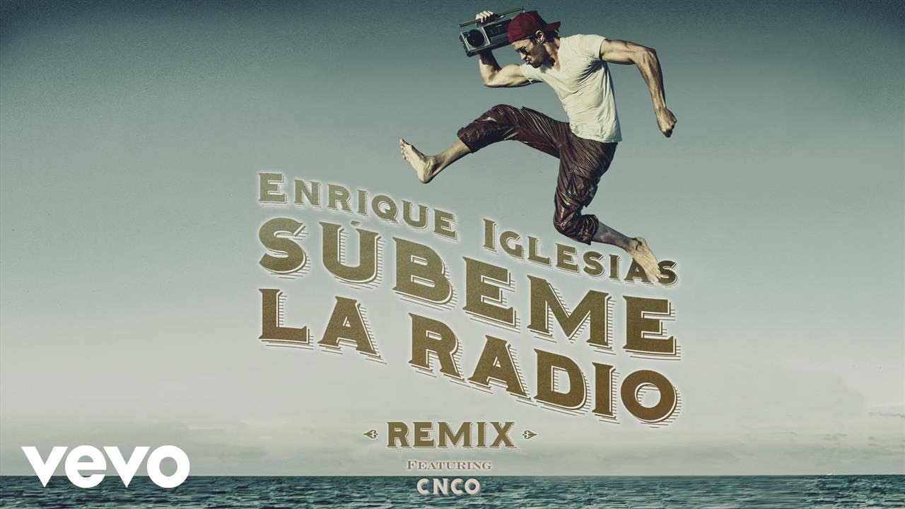 Enrique Iglesias – SUBEME LA RADIO REMIX (Remix)[Lyric Video] ft. CNCO