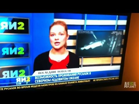russian; - Was a mermaid sighting really covered by a local Russian news outlet? | For more Mermaids, visit http://animal.discovery.com/tv-shows/mermaids/#mkcpgn=ytapl1...