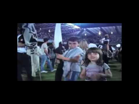 Celebración en el Dino Manuzzi, por ascenso a la Serie A