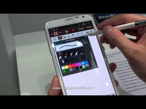 Samsung Galaxy Note 2, toutes les nouveautés en vidéo