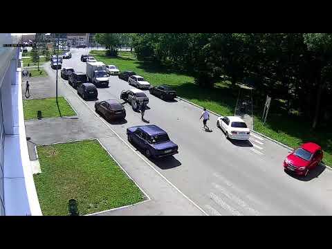 ДТП с пешеходом в Казани на улице Кул Гали