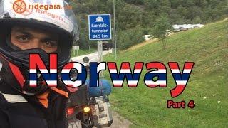 Ep 21 - Norway (Part 4) - Motorcycle Trip around Europe