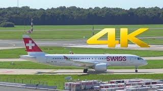 Flugzeug: Bombardier CS300 Fluggeselschaft: Swiss Registrierung: HB-JCB Flughafen: Hamburg Airport/EDDH/HAM Instagram...