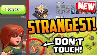 Video NEW Strange but TRUE Clash of Clans Players and Bases! STRANGEST Yet?! MP3, 3GP, MP4, WEBM, AVI, FLV Desember 2018