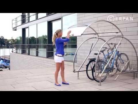 Fahrradgarage CERPAN - Für 1-4 Fahrräder
