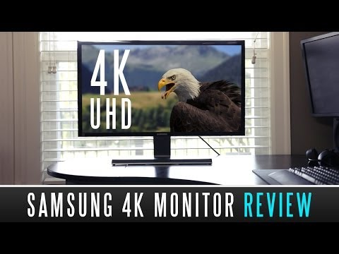 Samsung U28D590D 4K Monitor Review