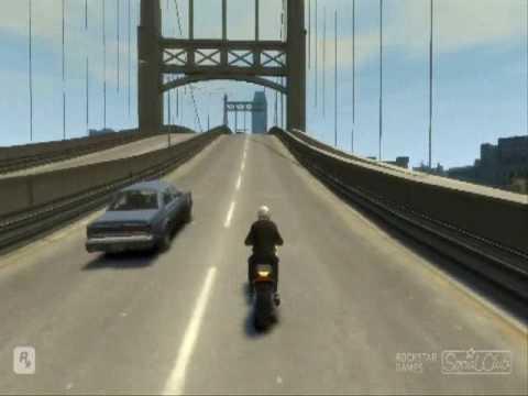 GTA 4 Horrible Crash (Epic Fail)