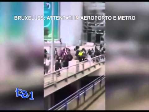 BRUXELLES: ATTENTATI IN AEROPORTO E METRO
