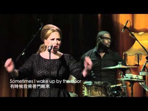 iTunes Festival - Adele Set Fire To The Rain HD Live (中文字幕/English Lyrics)