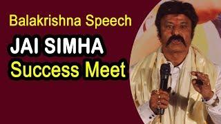 Video Hero Balakrishna Awesome Speech at Jai Simha Success Meet MP3, 3GP, MP4, WEBM, AVI, FLV Januari 2018