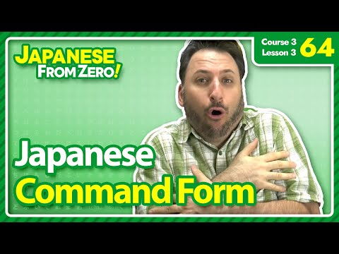 Japanese Command Form (て Form) - Japanese From Zero! Video 64 Mp3