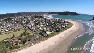 Whangamata New Zealand  city images : Whangamata Aerial Video