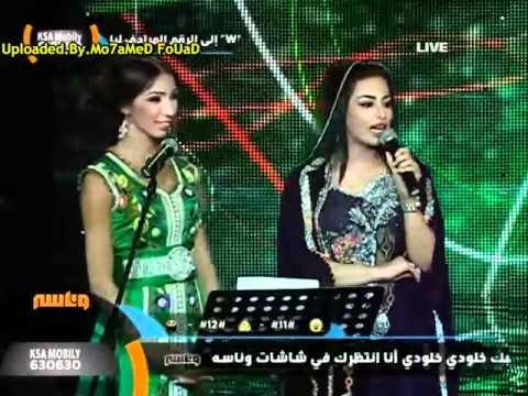 كارمن سليمان ودنيا بطمة فى مهرجان صلالة السياحى 2012