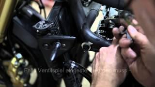 9. Valve adjustment Speed Triple 1050