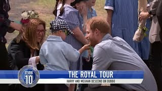 Prince Harry's Hair Fascinates Adorable Dubbo Schoolboy | Studio 10