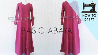 Video How to Draft Maxi Dress | Maxi Dress Pattern | DIY Abaya MP3, 3GP, MP4, WEBM, AVI, FLV Desember 2018