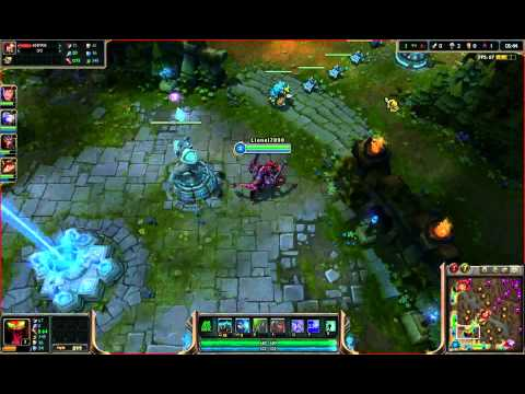 O noob que faz noobices,League Of Legends #1